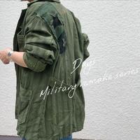 【御予約】リメイクストライプシャツジャケット