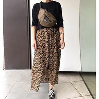 レオパード柄スカート