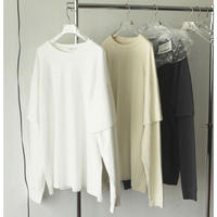 Cotton Layered Long Tshirts