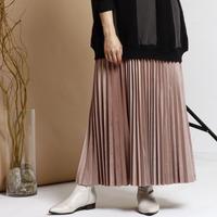 【御予約】ベロアプリーツスカート
