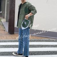 【御予約】リメイクミリタリーJK(ポケットバンダナ星★)