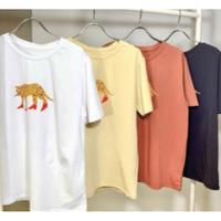 【御予約】ハイヒールヒョウTシャツ
