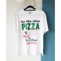 オーバーサイズPizzaプリントTシャツ