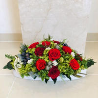 赤バラオーバル M special
