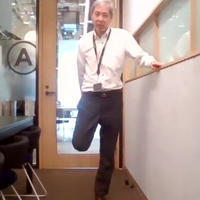 ◆簡単健康体操(ひざ痛・腰痛・肩痛予防軽減)動画
