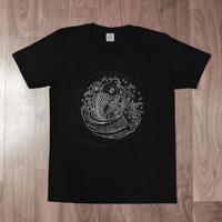 AZOTH×京源 Tシャツ「鯉の滝登り」
