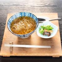 京北産 十割かけそば(温)(生蕎麦+お出汁+薬味)