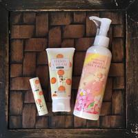 蜂蜜橘子護手霜唇膏& 薔薇身體乳組合 Honey  Mikan Hand Cream & lip balm Set & Rose Body Gel Cream