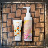 聖誕套組★蜂蜜護手霜 & 薔薇身體乳組合  Honey Mikan  Hand Cream 60g & Rose Body Gel Cream