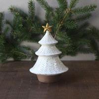 クリスマスツリーのオブジェ/星付き
