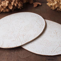 Bouquet  Oval plate