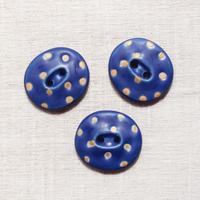 hanaボタン(blue +gold)