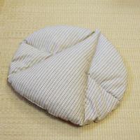 らく座布(縦刺子)