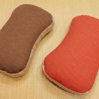 かたパイプ枕(むら糸)