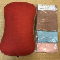 わた枕、やわらかパイプ枕、かたパイプ枕専用の枕カバー