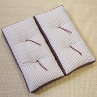 折れ座布(たて刺子)