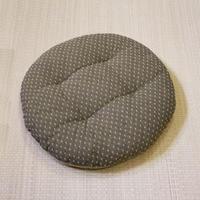 円座(絣刺子)