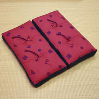 折れ座布(花街小紋)