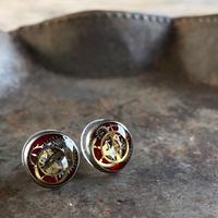 【new】CLOPOA petit pierced earrings bordeaux【K0574】