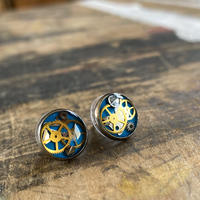 【STYLES追加掲載】CLOPOA   petit pierced earrings skyblue【K0481】