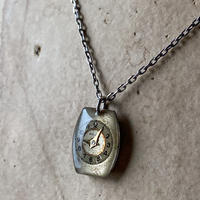 antique unique dial necklace【K0531】