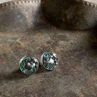 CLOPOA petit pierced earrings turquoise