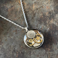 【STYLES】antique caseback necklace【K0470】