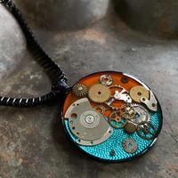 【STYLES】CLOPOA BLACK large necklace design 【K0453】