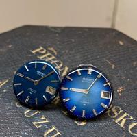 【STYLES追加掲載】antique blue dial pierced earrings【K0489】