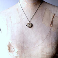 antique reversible movement necklace