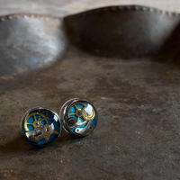 CLOPOA petit pierced earrings skyblue【K0549】