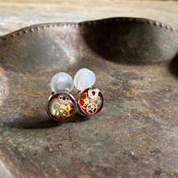 CLOPOA petit earrings red