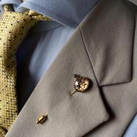 antique movement lapel pins