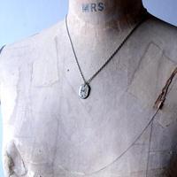 antique dials necklace