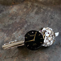 antique dial&movement tiepin【K0563】