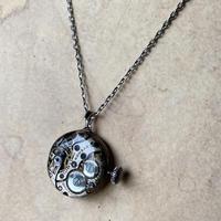 【STYLES】antique dial&movement reversible necklace 【K0457】