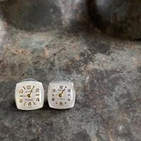 【STYLES】antique dial pierced earrings【K0438】