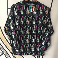 【未使用】90s MICHIKO LONDON 総柄 ロングTシャツ