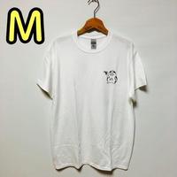 【Mサイズ】白ワンポイントカッパTシャツ