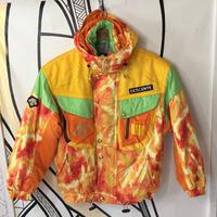 【ド派手】90'sデサントイエロータイダイスキージャケット