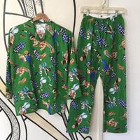 【スペシャル】90s ストリートファイター 未使用 パジャマ セットアップ