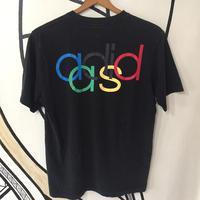 【個性的】アディダス オリンピック 五輪 デザイン ブラック Tシャツ