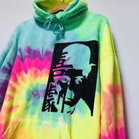 KYULI-GUN MODE【KIGEKI】TIEDYE hoodie