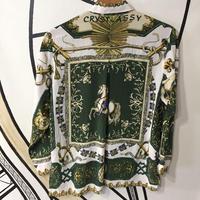 【スペシャル】シルクヴィンテージ英国柄シャツ