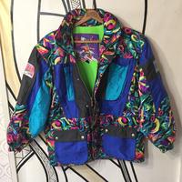 【個性的】ド派手ブルーデサントスキージャケット