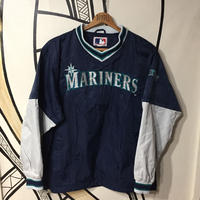 【90's】MARINERSメジャーリーグ厚手ナイロンユニフォーム
