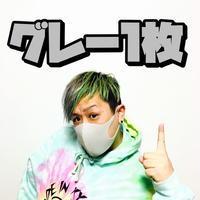 【グレー1枚】洗えるマスク
