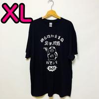 【XL】黒隊員プリントカッパTシャツ