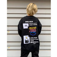 NEVER L/S Tee