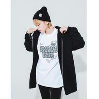 【受注終了】Graffiti zip hoodie☆オリジナル